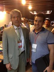 Con Yesid Reyes Alvarado