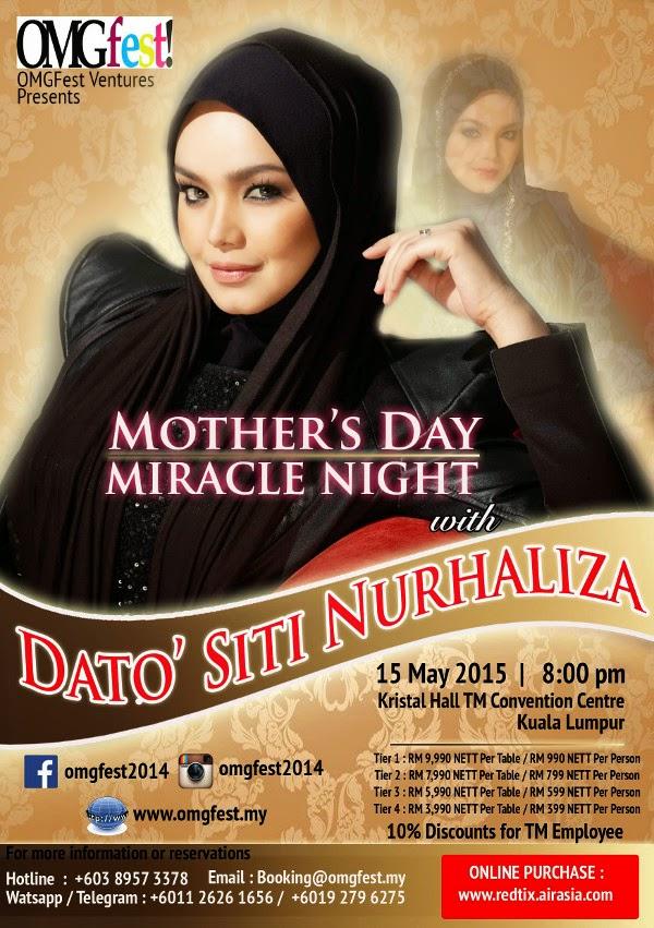 Keajaiban Malam Hari Ibu Dengan Dato Siti Nurhaliza