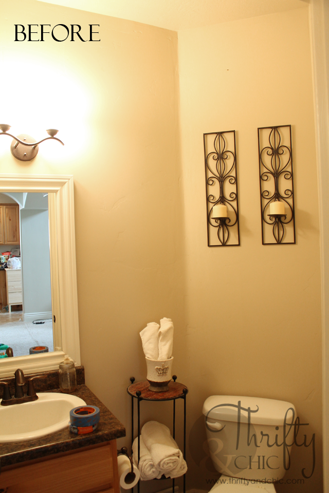 Bathroom Makeover -before