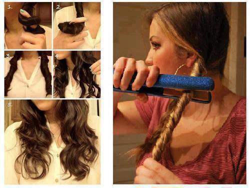 Come arricciare i capelli con la piastra