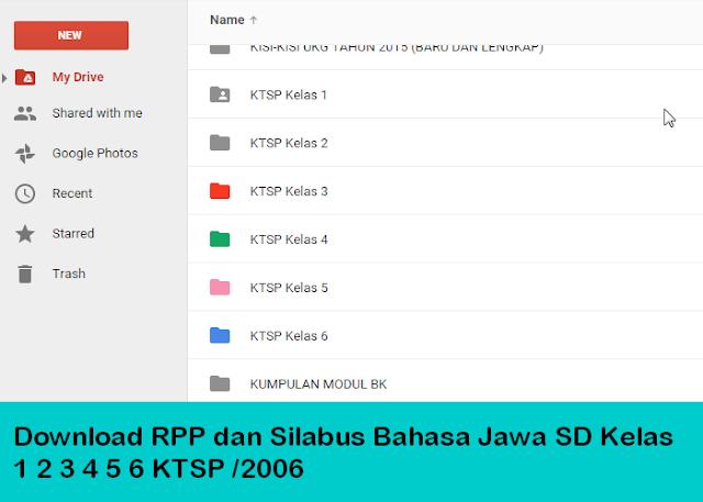 Download Rpp Dan Silabus Bahasa Jawa Sd Kelas 1 2 3 4 5 6 Ktsp 2006 Informasi Pendidikan