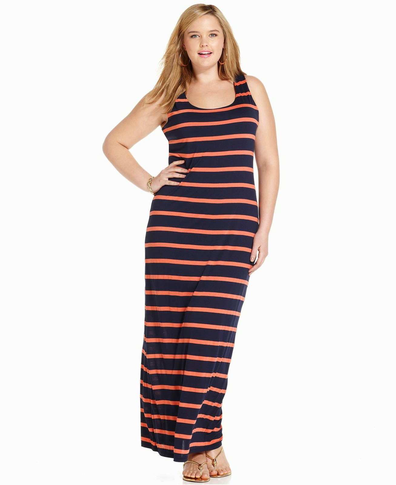 Ideas de vestidos largos para gorditas