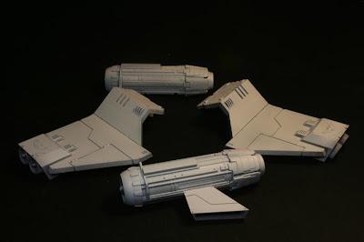 Alas y motores imprimados de la Stormraven