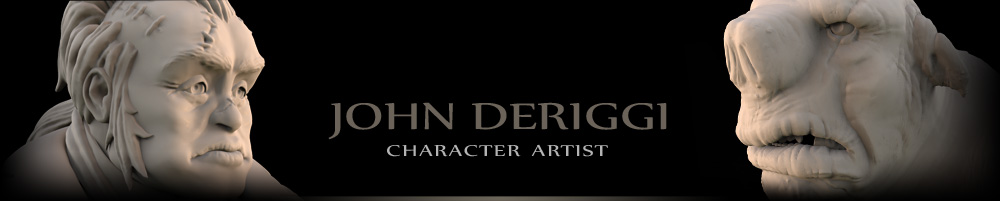 John DeRiggi: Character Artist