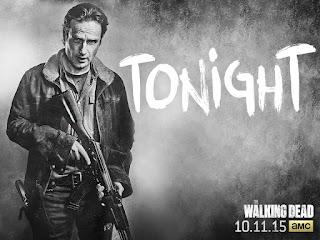 Rick returns in season six of The Walking Dead