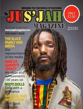 Kabaka Pyramid Hits The Cover Of  Jus Jah Magazine