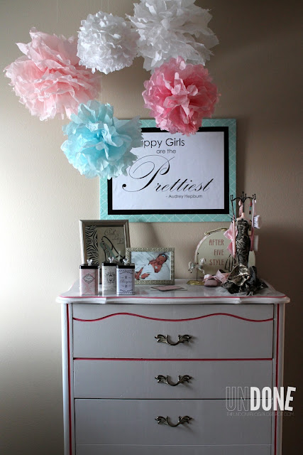 {The UNDONE Blog} Happy Girls are the Prettiest  - perfect quote for a girl's room!