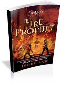 Book Cover: Fire Prophet by Jerel Law