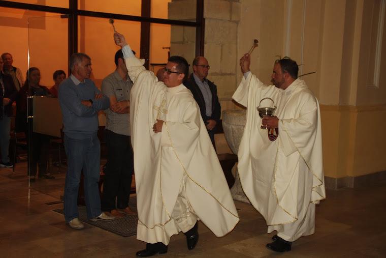Javier >y Rafael, los nuevos sacerdotes de Nava