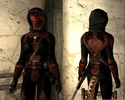 skyrim dark brotherhood armor retexture  dark brotherhood shrouded dark brotherhoo...