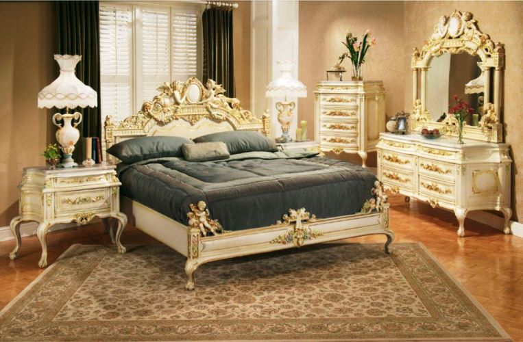 Cheap Victorian Style Furniture White Luxury Classic Design Ideas For  Bedroom With Antique Mirror And Table