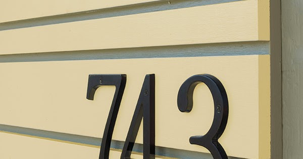 Mad For Mid Century Mid Century Modern House Numbers Project