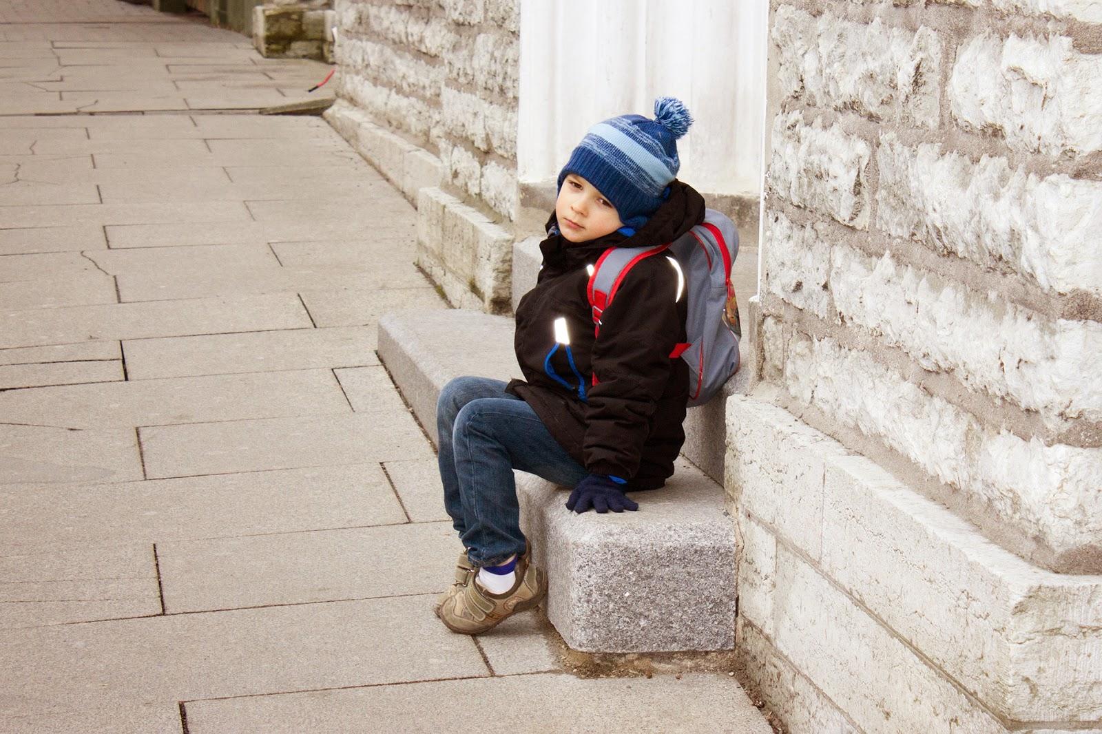 В Таллин с детьми
