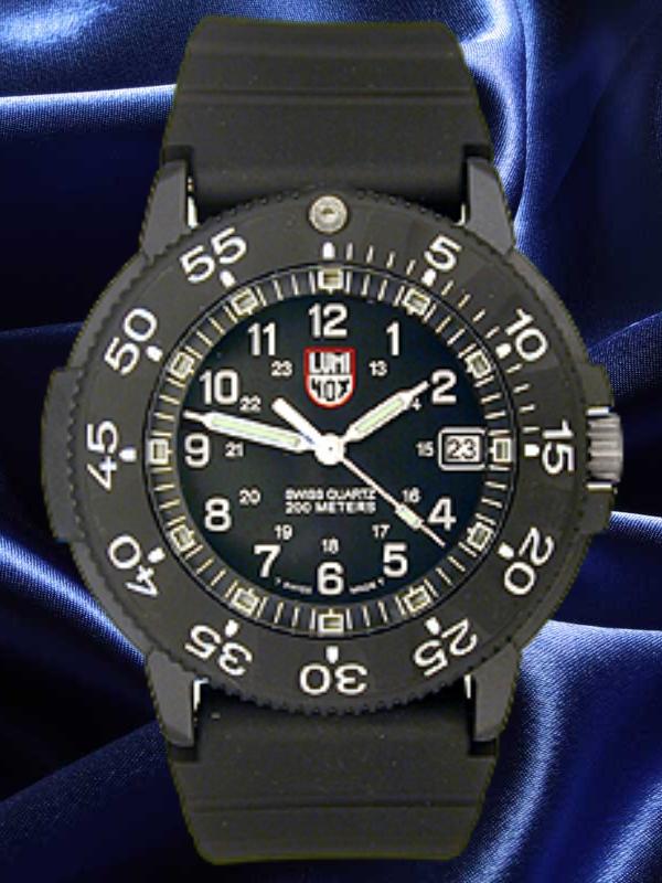 Dive watch a real man watch luminox 3001 original navy seal dive watch - Navy seal dive watch ...