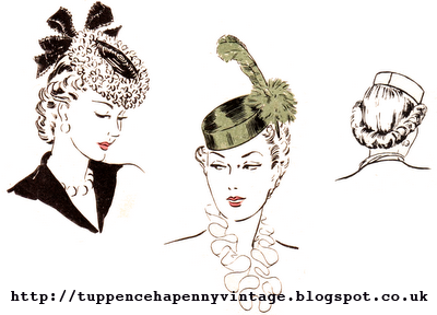 1940's Sewing - Pillbox Hat pattern