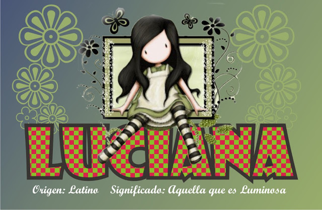 Significado de LUCIANA LUCIA LUCCIANA