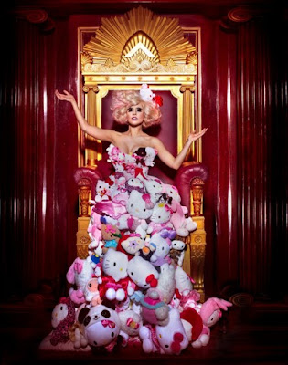 Lady Gaga Hello Kitty photoshoot
