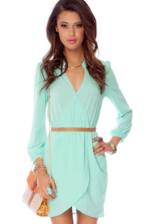 Dress Green Pastel Cutting Surplice
