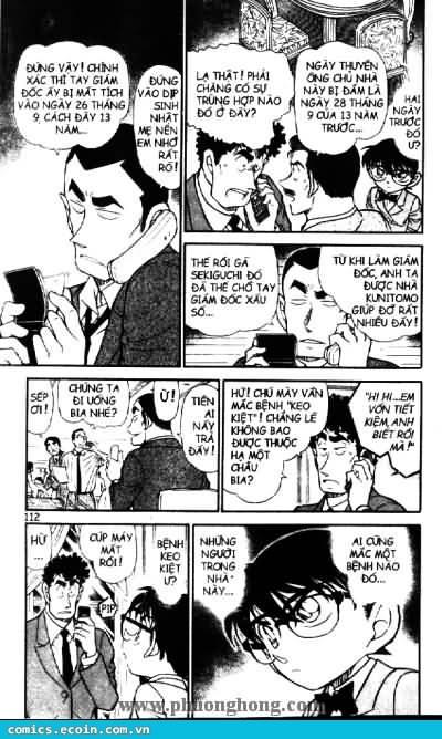Detective Conan - Thám Tử Lừng Danh Conan chap 497 page 6 - IZTruyenTranh.com