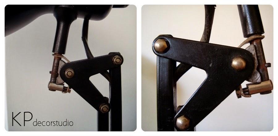 Flexos originales. lámparas vintage online. fase, metalarte