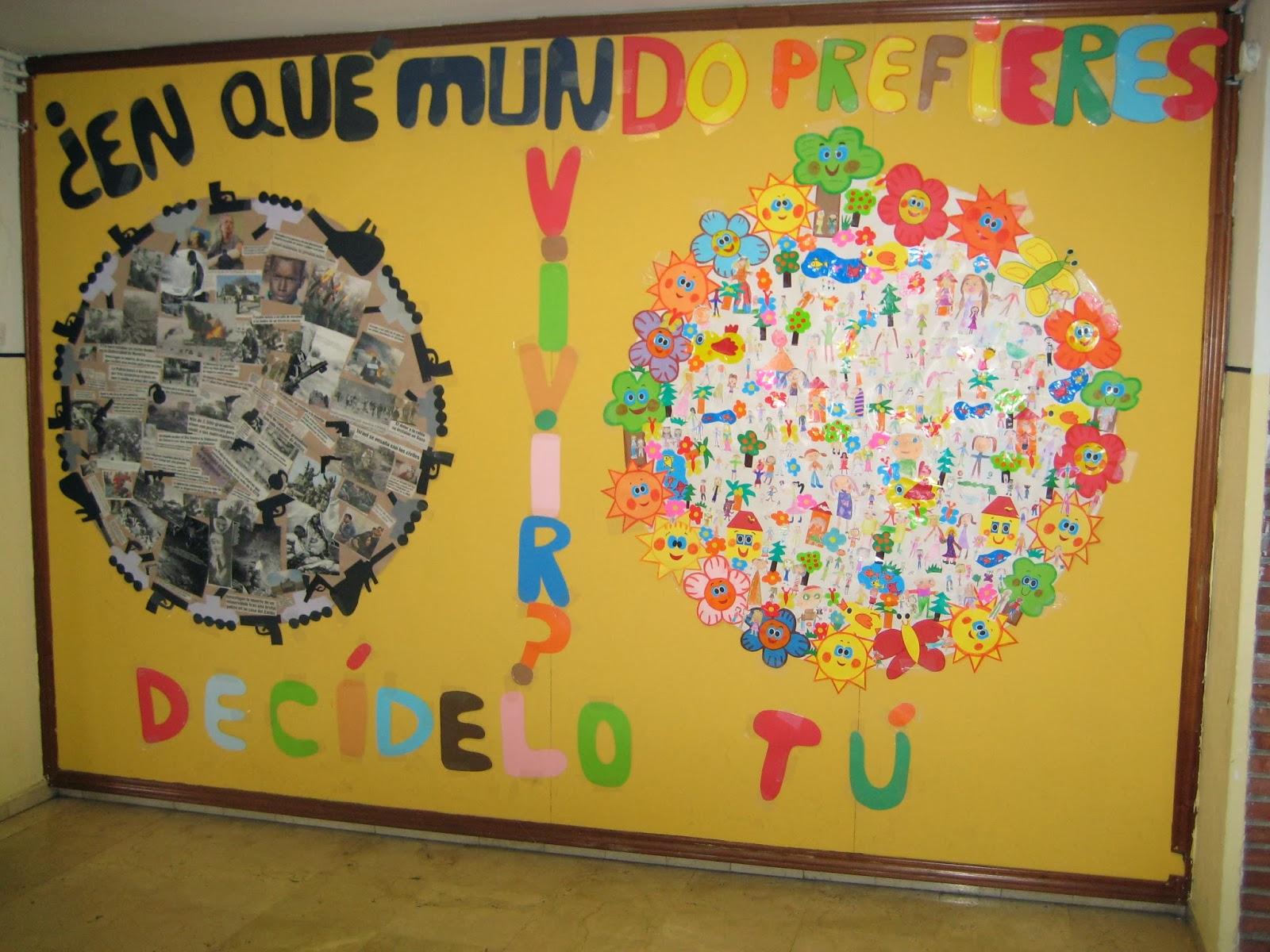 Como decorar el colegio en su aniversario cuarto de mi for Cuarto aniversario