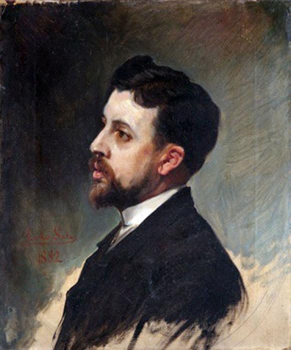 Emilio Sala Francés, Retrato de Caballero, Pintor Español