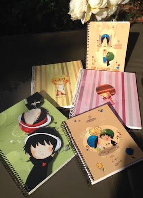 cuadernos A4 y A5