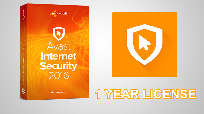 Avast Internet Security 2016 [1 YEAR LEGIT LICENSE]