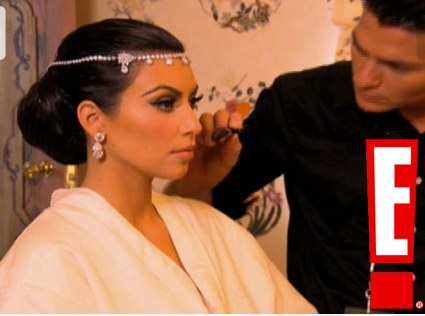 Bloggin Kim Kardashians Wedding Makeup And Kim Kardashians Wedding Makeup Tutorial