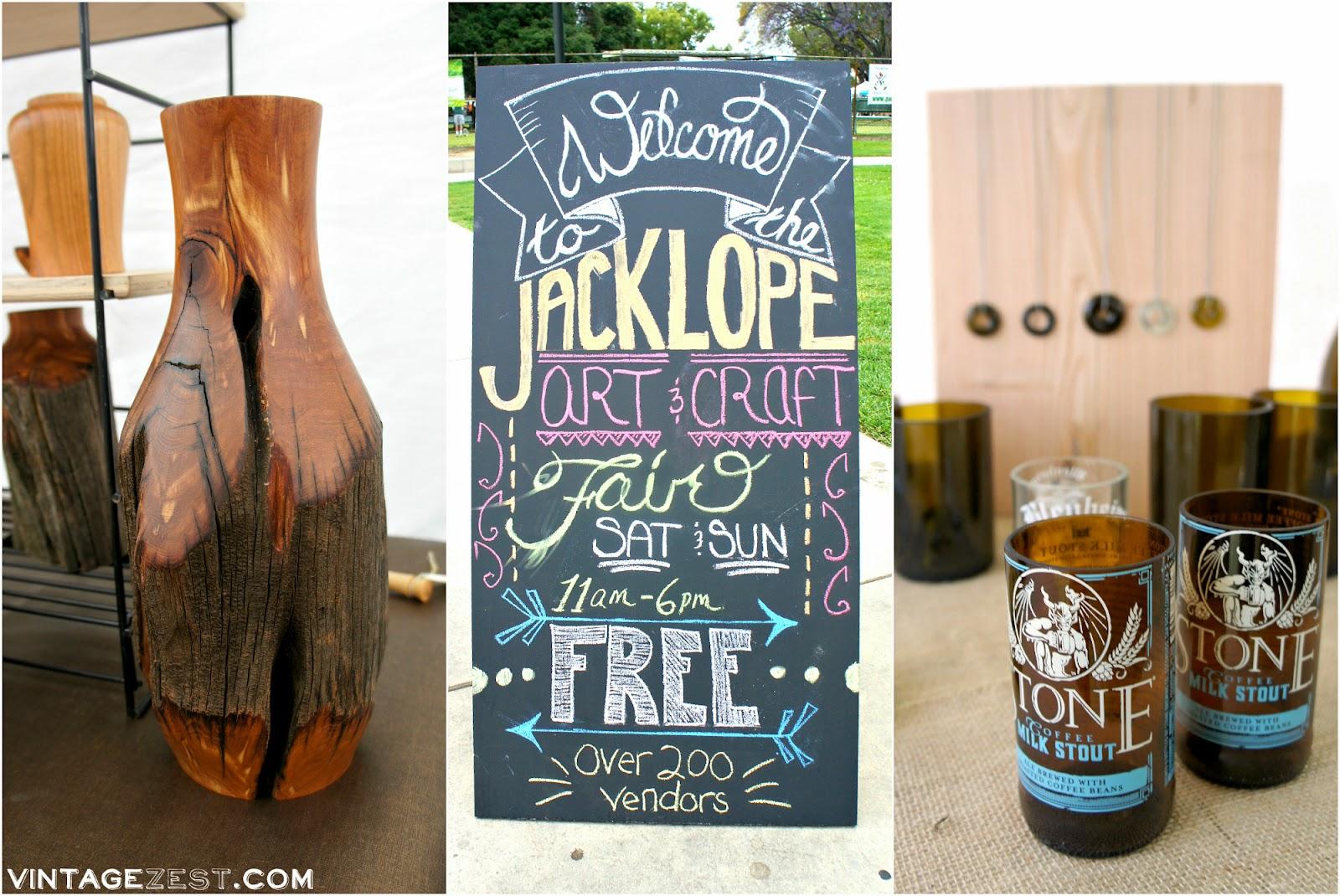Jackalope Arts Wrap-up on Diane's Vintage Zest!