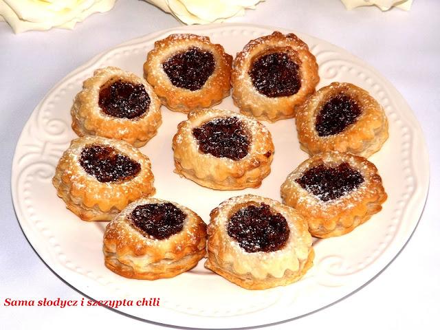 Francuskie ciasteczka figa z makiem .