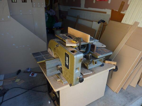 Prof. Thaddeus Swarfburn Futzes Around In The Shed : The Emco-Star Woodworking Machine