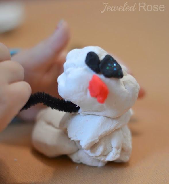 Snow clay recipe