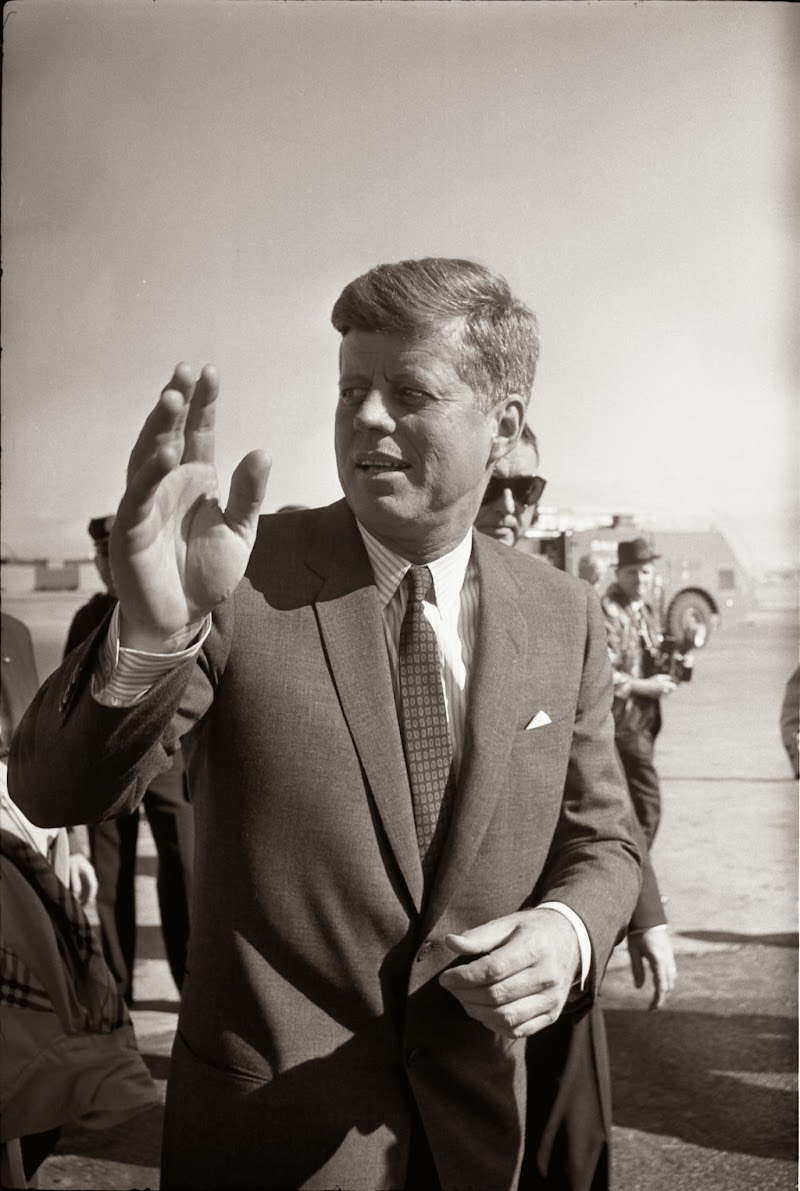 John F Kennedyup Closeon November 22, 1963 (click On These Pictures  For A Supersized Look At Jfk):