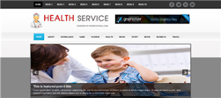 Health Service Blogger Template is a free premium and health  related quality blogger template. its good for health and pharmacies blog
