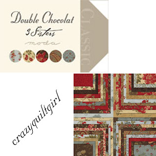 Moda DOUBLE CHOCOLAT Quilt Fabric by 3 Sisters