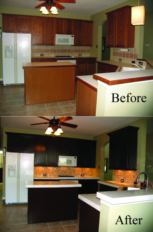 Before And After Kitchen Remodel Interior Impressive Inspiration