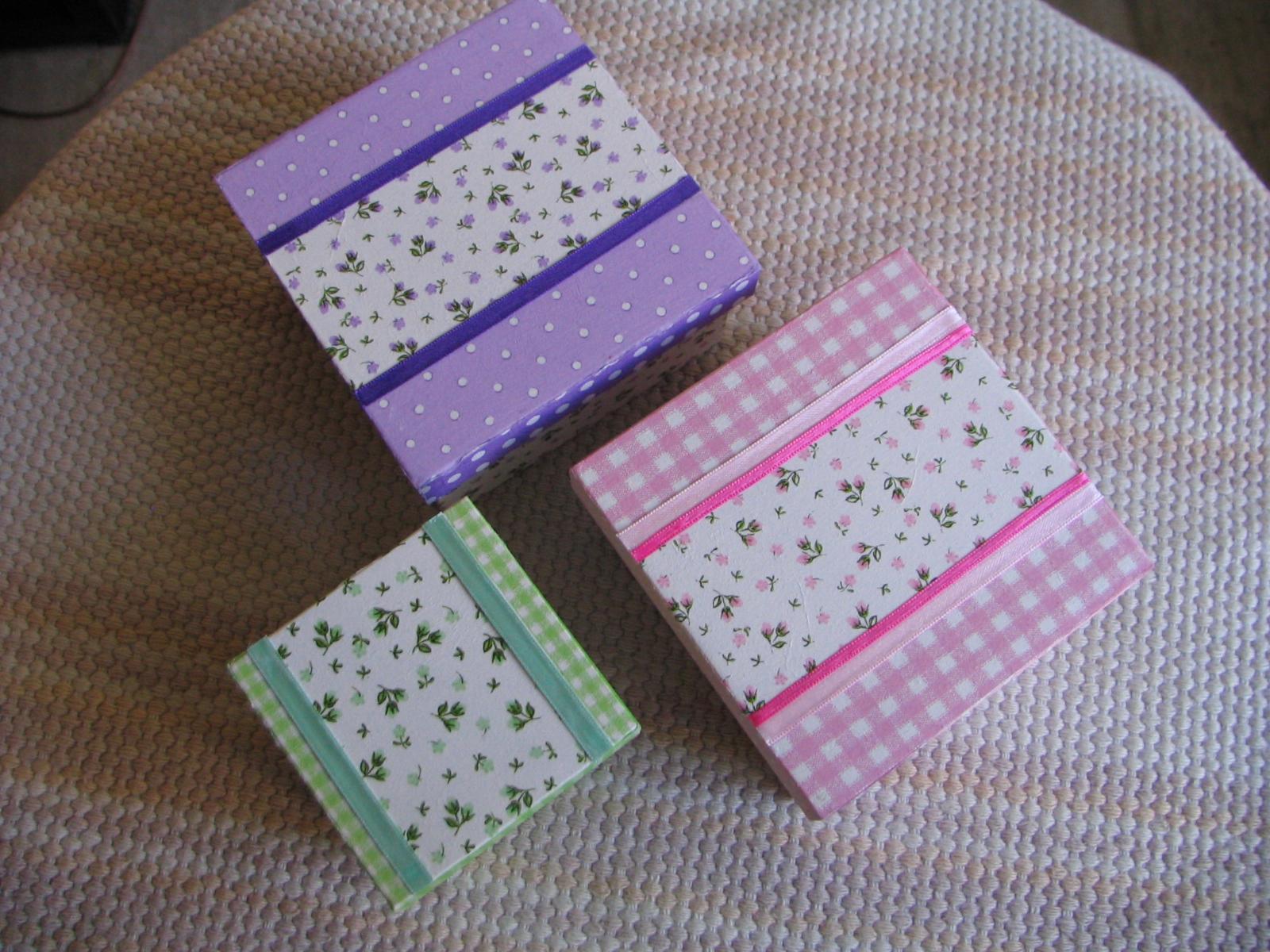 Cajas y cajitas - Cajas de carton pequenas decoradas ...