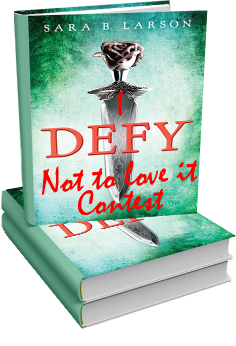I Recently Read And Reviewed DEFY By Sara B Larson Absolutely Loved It Because Enjoyed So Much The Season For Giving Is Upon Us Have