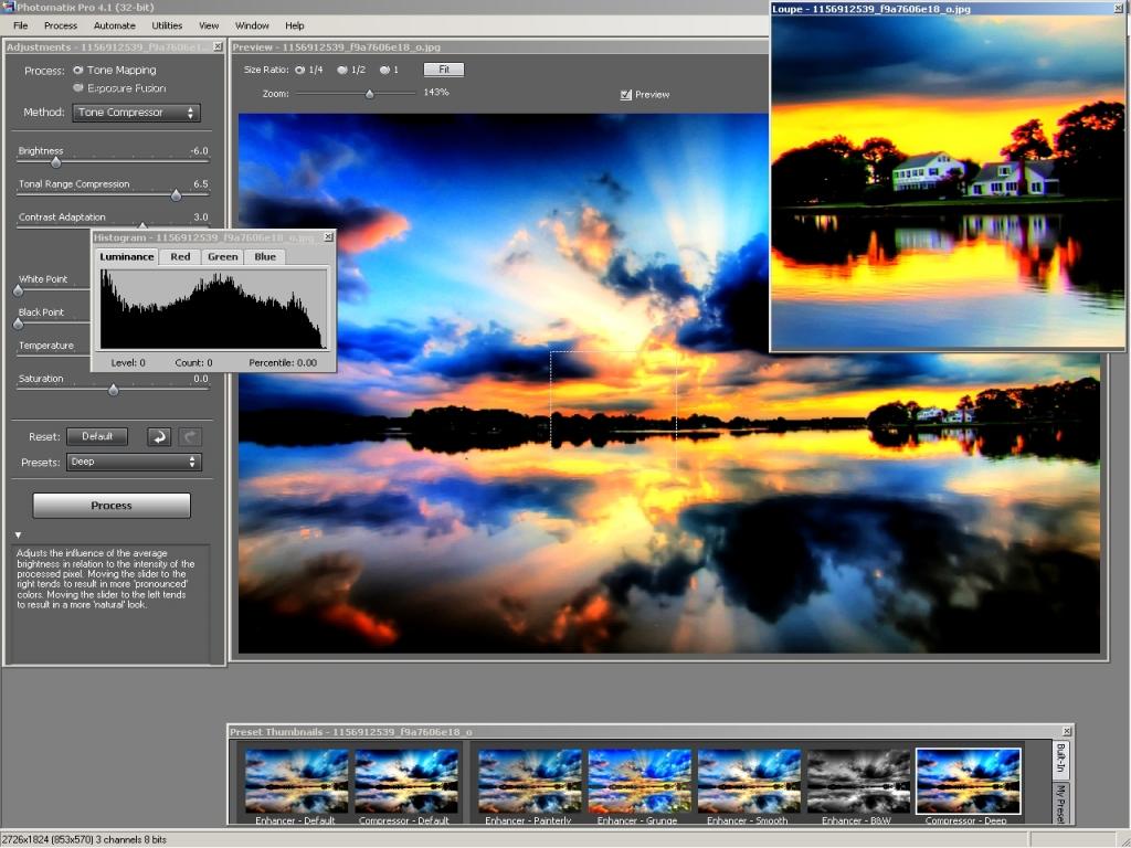 Photomatix Pro v4.1.1 / Фотоматикс ПРО +crack, кряк, крек, серийник, serial,