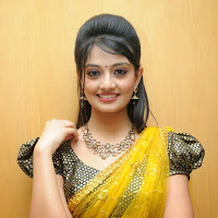 Lovely cute Nikitha narayana hot photos in half saree at varna audio launch