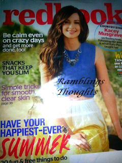 Ramblings Thoughts, Mail, Mail Call, Coupons, Free, Samples, Products, Magazines, Redbook