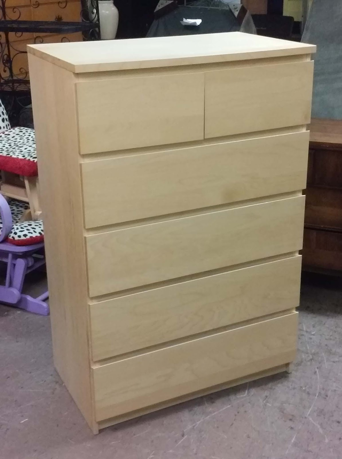 Uhuru Furniture Amp Collectibles Sold Ikea Blond Chest Of