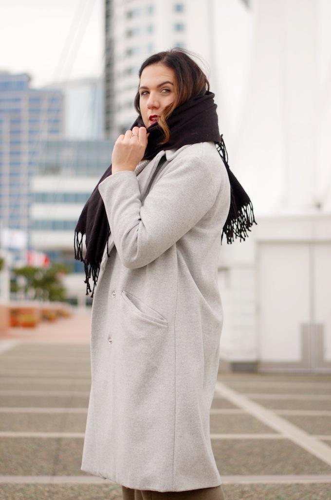HM wool coat