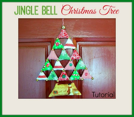 jingle bell christmas tree banner