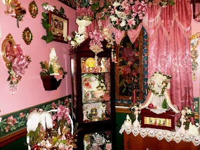 A Pink,White & Gold Christmas in the Dining Room ( First Half) ,Part 6 ,Our Christmas Home Tour