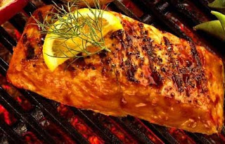 Grilled Salmon Recipe | Healthy Sea Foods Salmon Recipe