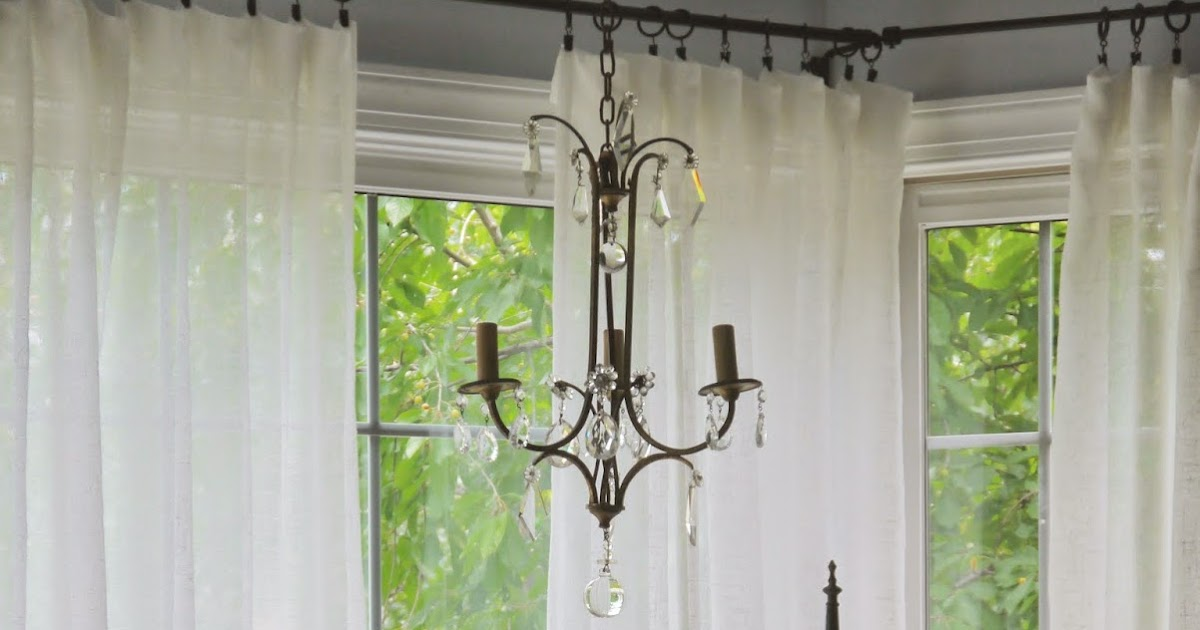 Chateau Chic Ideas For Easy Window Treatments