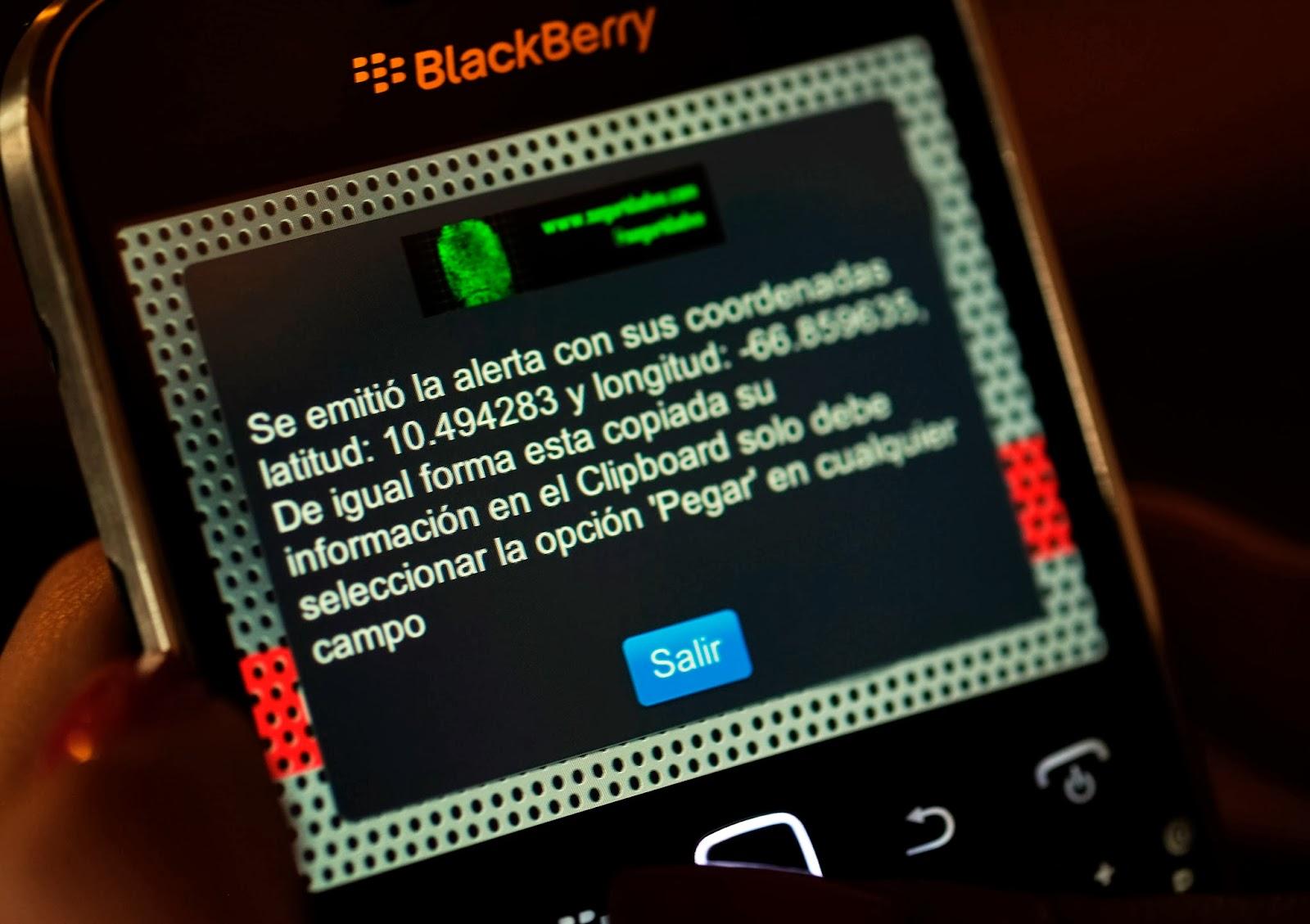 Cell Phone, Apple Mobile, Mobile, Smartphone, Police, Crime, App, Pocket Police, Panic button, Emergencies, Venezuela, Launch, Violent, Caracas, Blackberry, Technology, News,