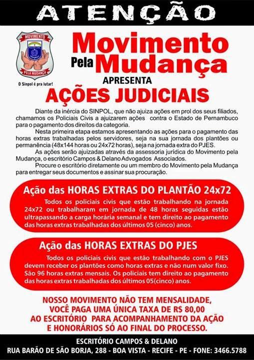 AÇÕES JURÍDICAS - 1